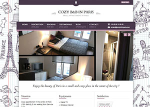 Cozy B&B in Paris